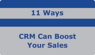 booklet on 11 ways crm can boost your sales