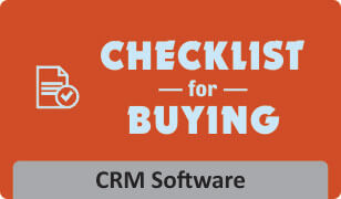 Checklist for buying crm software