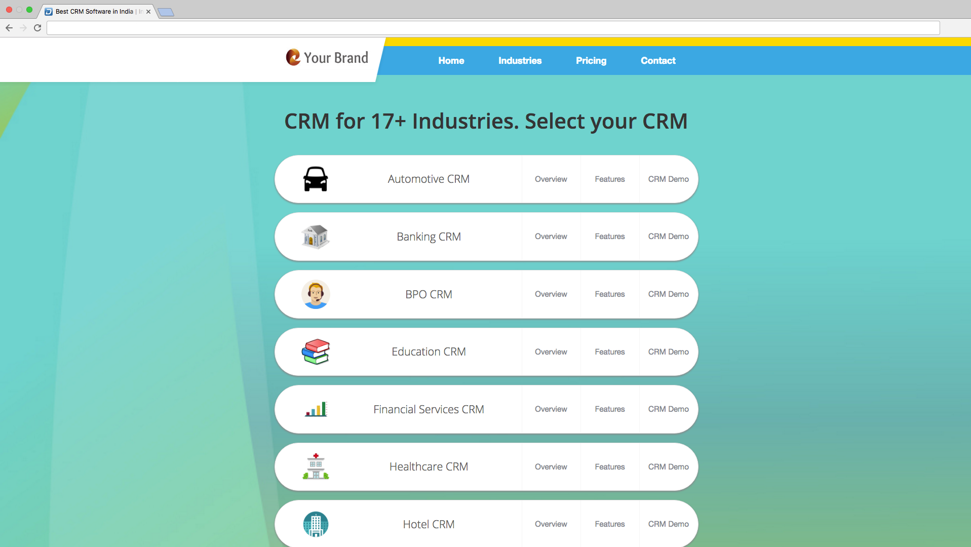 Resell 16 CRM softwares | India | Sep 2019 | Dquip